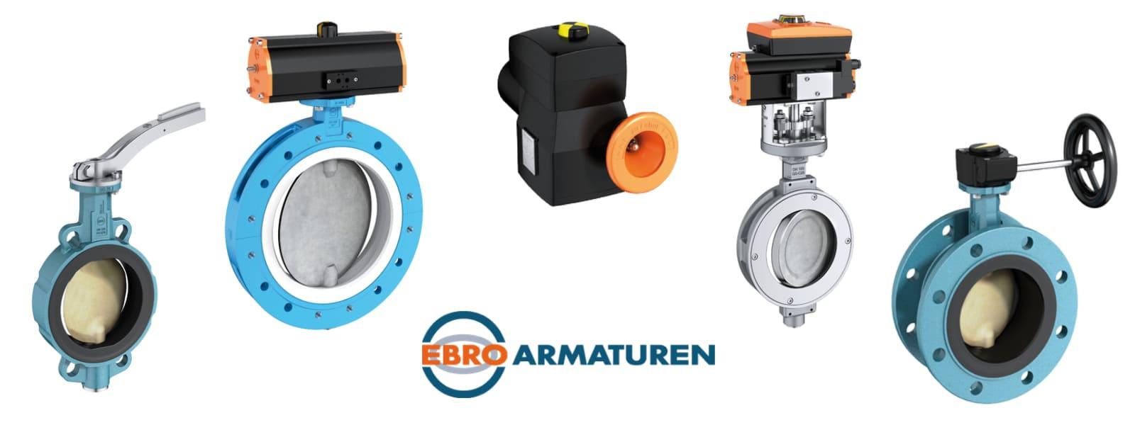Трубопроводная арматура EBRO Armaturen