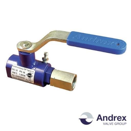 Манометрический шаровой кран DP22-11 (PN6-PN160 DN6-DN50)   Andrex