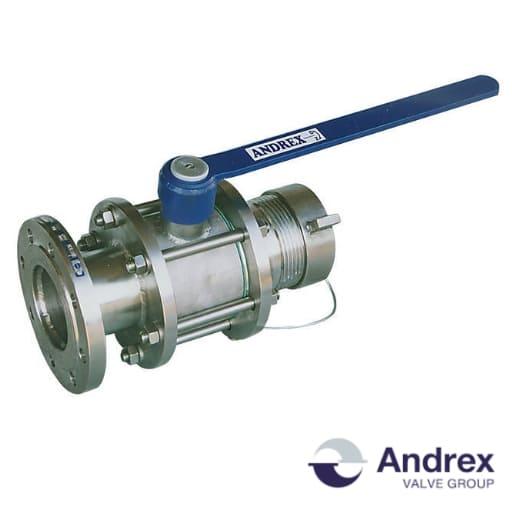 Шаровой кран для железнодорожных цистерн DP33-00 (PN6-PN16 DN100)   Andrex