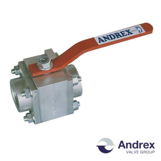 Шаровой кран алюминиевый DP66-01 (PN6-PN40 DN10-DN150)   Andrex