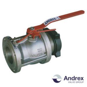 Шаровой кран алюминиевый DP66-03 (PN6-PN16 DN100) | Andrex