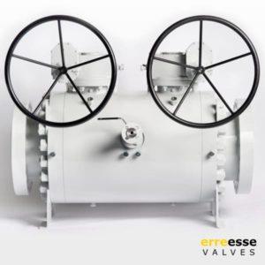 Шаровой кран модульный двойного запирания запорно-спускной (DBB) VD3 - VD4 | Erreesse Valves