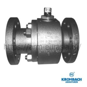 Шаровой кран по DIN 3357, BS 5351, ASME B16.34 c уплотнением металл / металл 5136 | Krombach Armaturen