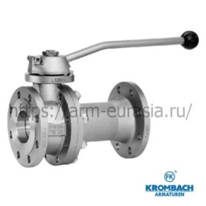 Шаровой кран FK 1025-1035 | Krombach Armaturen