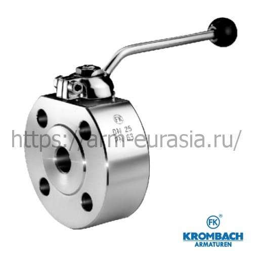 Шаровой кран межфланцевый FK 1045 | Krombach Armaturen