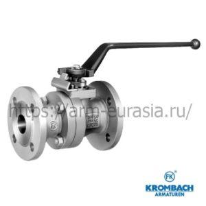 Шаровой кран по DIN 3357, BS 5351, ASME B16.34 c уплотнением металл / металл FK 1136 | Krombach Armaturen